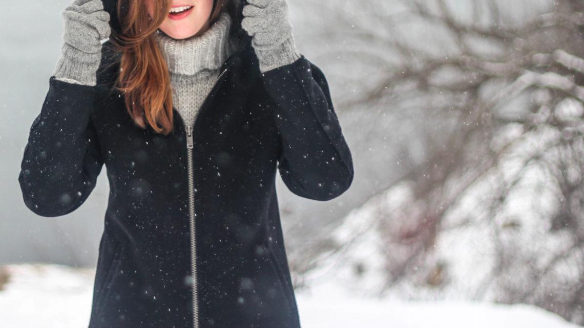 heureux en hiver