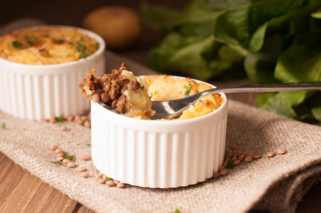 Shepherd's pie végétarienne