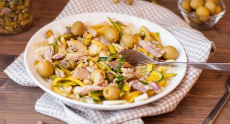 Salade de fenouil et courgettes